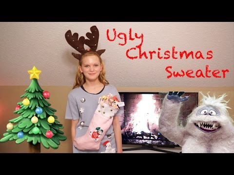 Making an Ugly Christmas Sweater