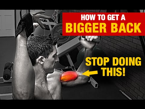 How to Get Bigger Lats - Workout Tip (FIX THIS!!)