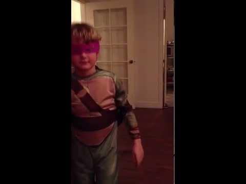 Hank's Teenage Mutant Ninja Turtles Costume