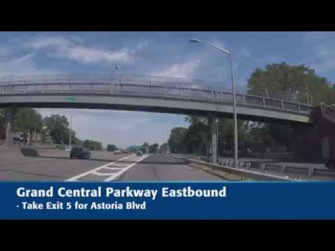LGA Lot P10 Eastbound Directions