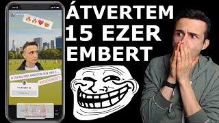 15 EZER EMBERT VERTEM ÁT! | NewYork Prank
