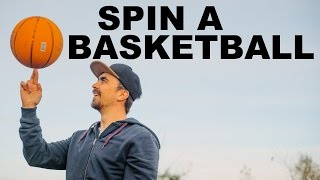 Learn to Spin a Basketball    Learn Quick