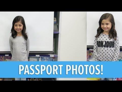KIDS GETTING THEIR PASSPORT PHOTOS TAKEN!