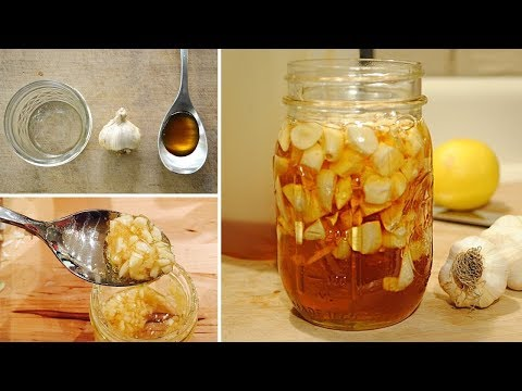 Eat Garlic and Honey on Empty Stomach after 7 Days This Will Happen to Your Body!