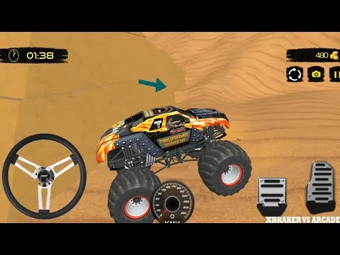 Offroad Monster Truck Ford Raport Xtreme Racing | Offroad Truck Driving - Android GamePlay FHD