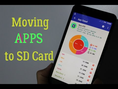 How TO Move Apps to SD Card on Android Easily (2016)