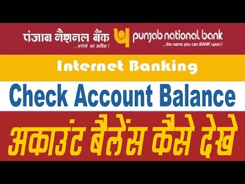 pnb account balance check online | how to download pnb bank statement