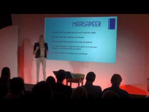 How to avoid rejection and get connection: Marisa Peer at TEDxGoodenoughCollege