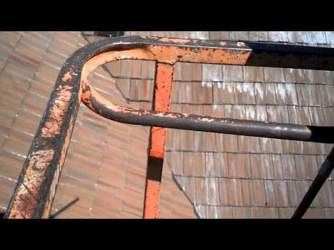 Bio Gel tile roof cleaning video for Rodney