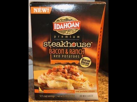 Idahoan Steakhouse: Bacon & Ranch Review