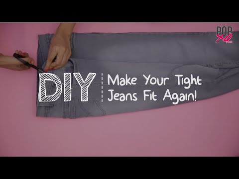 DIY: How To Make Your Tight Jeans Fit Again - POPxo