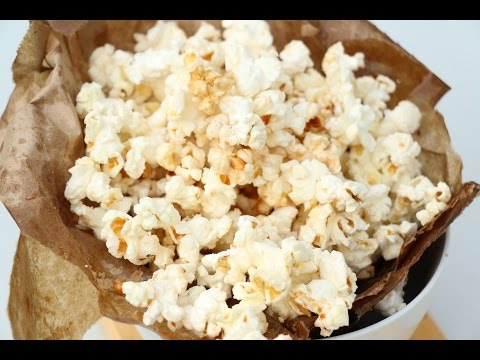 How to Make Kettle Corn in the Microwave