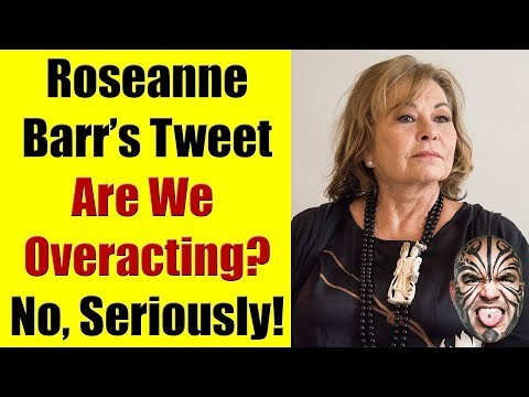 Roseanne Barr's Incident - Are We Overacting To Something Silly?