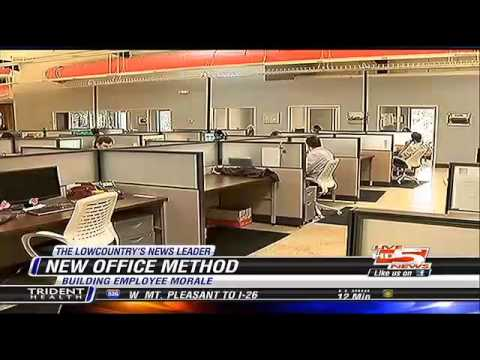 Live5News - New Office Design Boosting Employee Morale