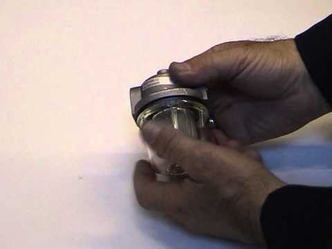 XL9E - Cleaning the in-line fuel filter