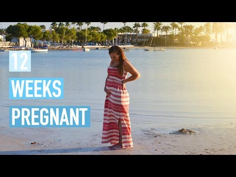 12 WEEKS PREGNANT - SYMPTOMS, GOING ON HOLIDAY & NEARLY SCAN TIME!