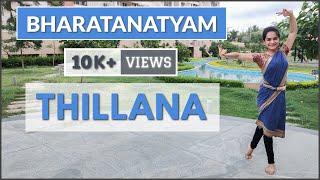 Bharatanatyam Thillana | Practice Dance Video | 2020