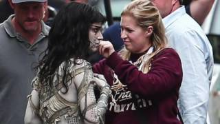The Mummy ( 2017 ) Set Pics - Tom Cruise, Sofia Boutella | Universal Pictures
