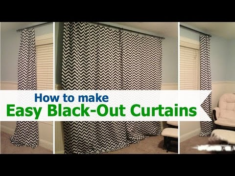 Ultimate Guide About How to Make Blackout Curtains with easy steps