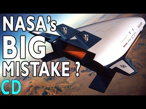 NASA's Big Mistake - The X-33 VentureStar Replacement Shuttle