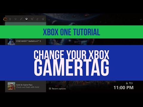 How to change your Xbox One Gamertag 2018