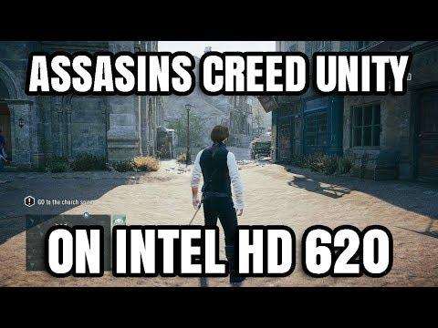 Assassin's Creed Unity ON Intel HD 620 Graphics Core i5 7200U
