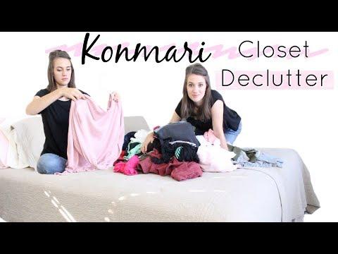 CLOSET DECLUTTER | KONMARI METHOD | JORD GIVEAWAY!