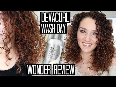 How to Detangle Curls with DevaCurl Wash Day Wonder