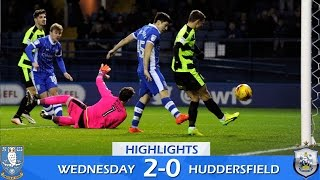 Sheffield Wednesday 2 Huddersfield Town 0 | Extended highlights | 2016/17