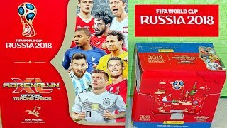 Fifa World Cup Russia 2018 Booster Box 50 Packs Panini Tcg Cards Part 1