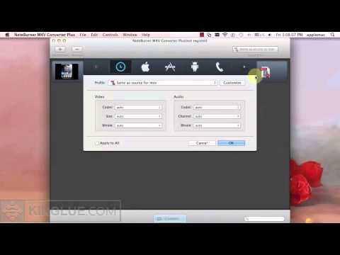 [M4V Converter : Mac] Import iTunes M4V Videos to iDVD for Burning