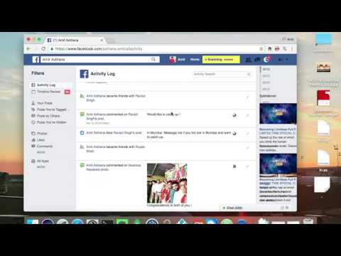 The Deleting of multiple Facebook Posts in one go | how to delete multiple posts on facebook
