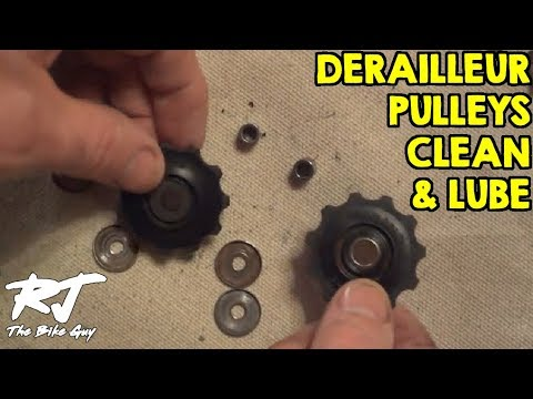 How To Clean/Lube Rear Derailleur Pulleys