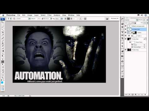 Adobe Photoshop CS3 Maximizing Productivity Ch6  BECOME A SPEED DEMON  Changing Font Size & Color