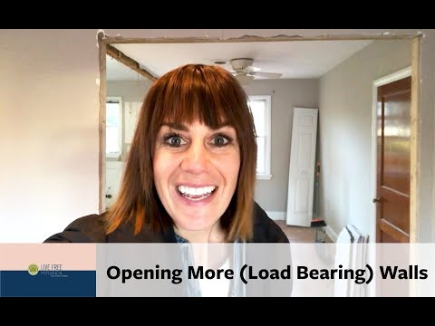 Our Richmond Fixer Upper: How to Open Up A (Load Bearing) Wall