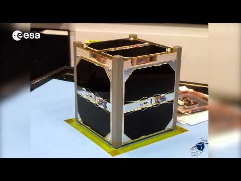Student Built CubeSat Heading to the Space Station | Video