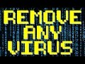 Remove Any Virus or Malware | Windows 7, 8, 8.1, 10. And speed up your computer or laptop.