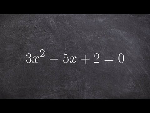 How to identify the number of solutions using the discriminant of a quadratic
