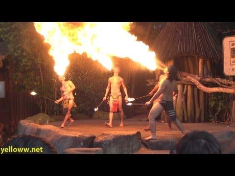 Fire Dance at the Singapore Zoo Night Safari