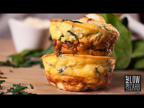 Low-Carb Egg Muffins - Healthy, Delicious & Easy to Make!