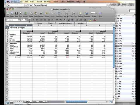 Using Bolding and Alignment in Excel (Mac)