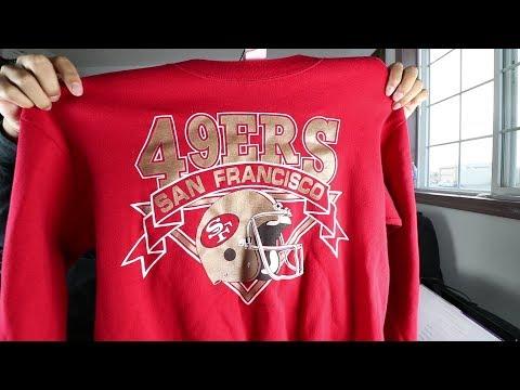 Quick Thrift Cops - Vintage 49ers Gear