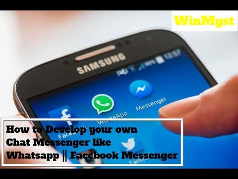 How to Create App Like Whats app and Facebook Messenger in 5 minutes [Hindi || Urdu] with Sub