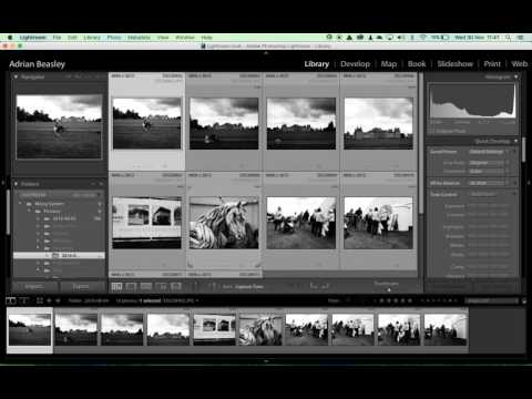 Moving Files in Lightroom