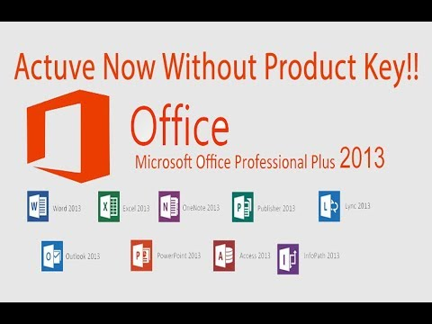 How to active Microsoft office  2013 professional plus | office 2013 activation