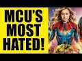 Avengers Endgame Its Official MCU Fans HATE Captain Marvel THE MOST