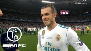 Gareth Bale after Champions League-winning goal: