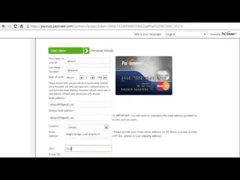 Get Free Payoneer Debit Card and 25$ Bonus