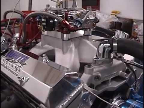 SBC 427 Stroker Engine w/ AFR Heads Dyno Testing