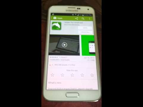Install flash player on Galaxy s5